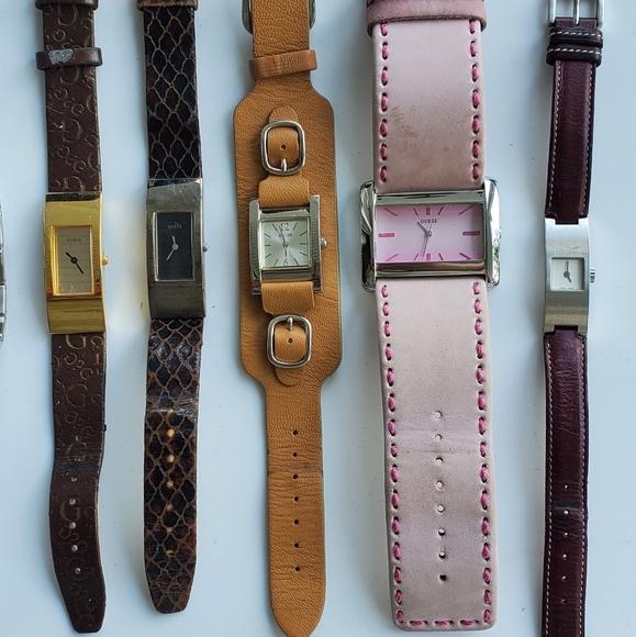Guess watch bundle + 1 coach watch